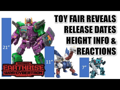 Transformers Earthrise Toy Fair Reveals, Release Dates and Reactions by Larkin's Lair