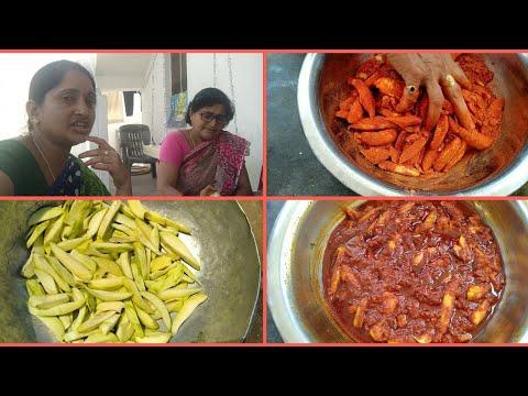 Village vlog|| మాగాయ నిల్వ పచ్చడి ఇలా చేసి రుచి చూసారంటే ప్రతిసారీ ఇలాగే చేసుకుంటారు|| Mango pickle.