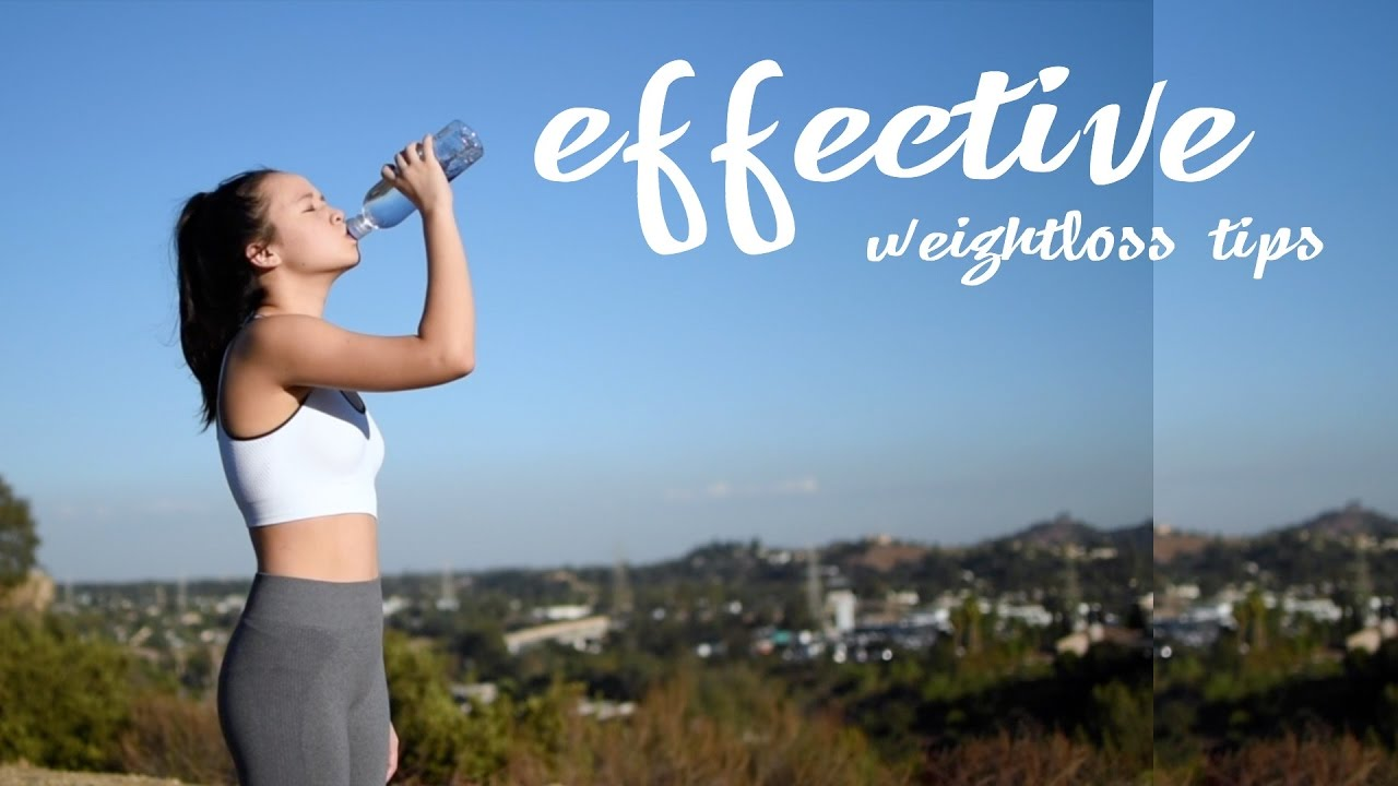 6 effective weightloss tips that will make a BIG difference