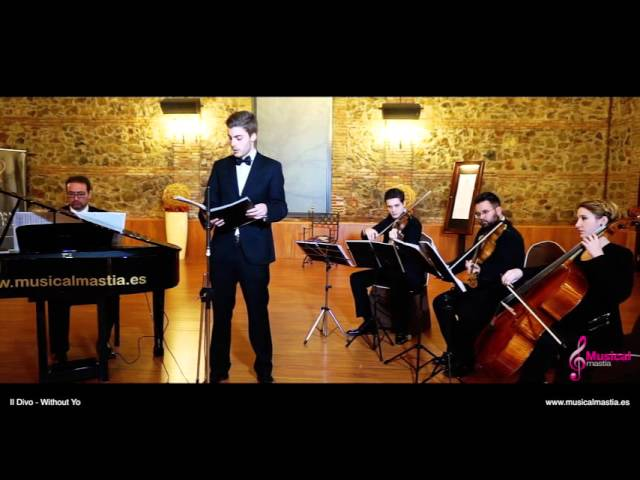 Il Divo - Without You musical Mastia bodas Murcia