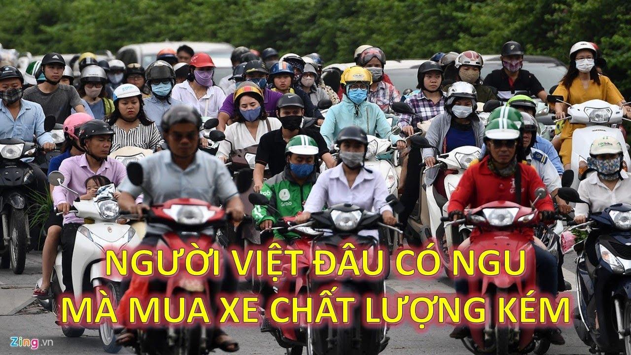 Dân mạng Trung Quốc nói gì khi biết tin xe máy tàu thất bại ở Việt Nam.