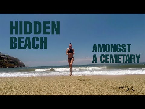 Travel Mexico: A hidden beach amongst a cemetery