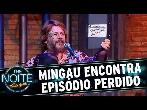 The Noite (18/08/16) - O que tem debaixo do Boné do Mingau? EPISÓDIO PERDIDO DE CHAVES!