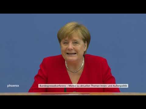 Sommerpressekonferenz von Bundeskanzlerin Angela Merkel am 19.07.19