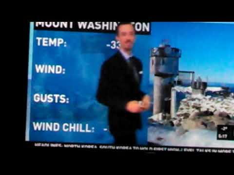 89 degrees below zero Mt Washington