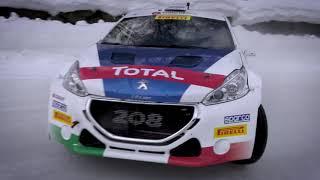 Peugeot 208 T16 - Paolo Andreucci:... io la guido così! - Neve