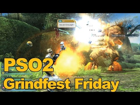 Phantasy Star Online 2 Gameplay Grindfest Friday – MMOs.com