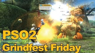Phantasy Star Online 2 Gameplay Grindfest Friday - MMOs.com