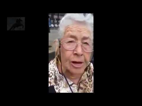 abuelita y su mensaje al gobierno de EPN.