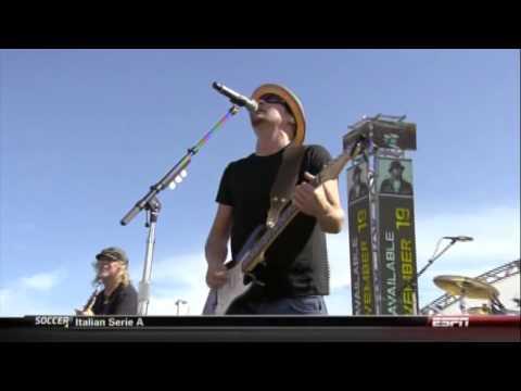 """ESPN - Nascar """"Let's Ride"""" [Live at 2012 Ford EcoBoost 400]"""