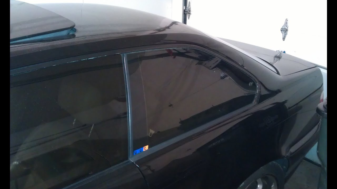 Bmw E36 Vent Window Seals Trim Replacement Youtube