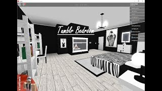 "Roblox Bloxburg | TOURING A ""TUMBLR"" BEDROOM! (THERES A SURPRIZE!)"