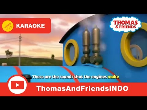 Thomas & Friends Indonesia: Suara Mesin Kereta (Official)