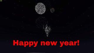Happy new year 2019 Minecraft style