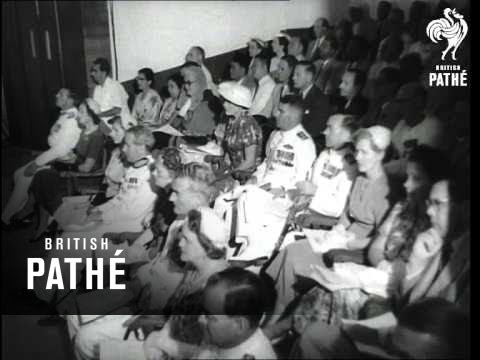 Malaya's First Elected Assembly Meets (1955)