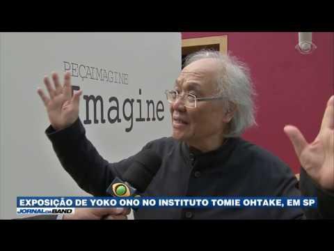 Exposição de Yoko Ono chega a São Paulo