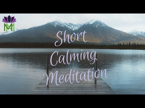 Short Calming Mindfulness Meditation to Clear the Clutter in your Mind / Mindful Movement