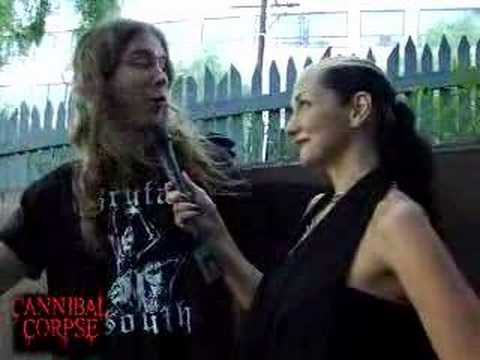 Cannibal Corpse interview bout metal blades 25th anniversary