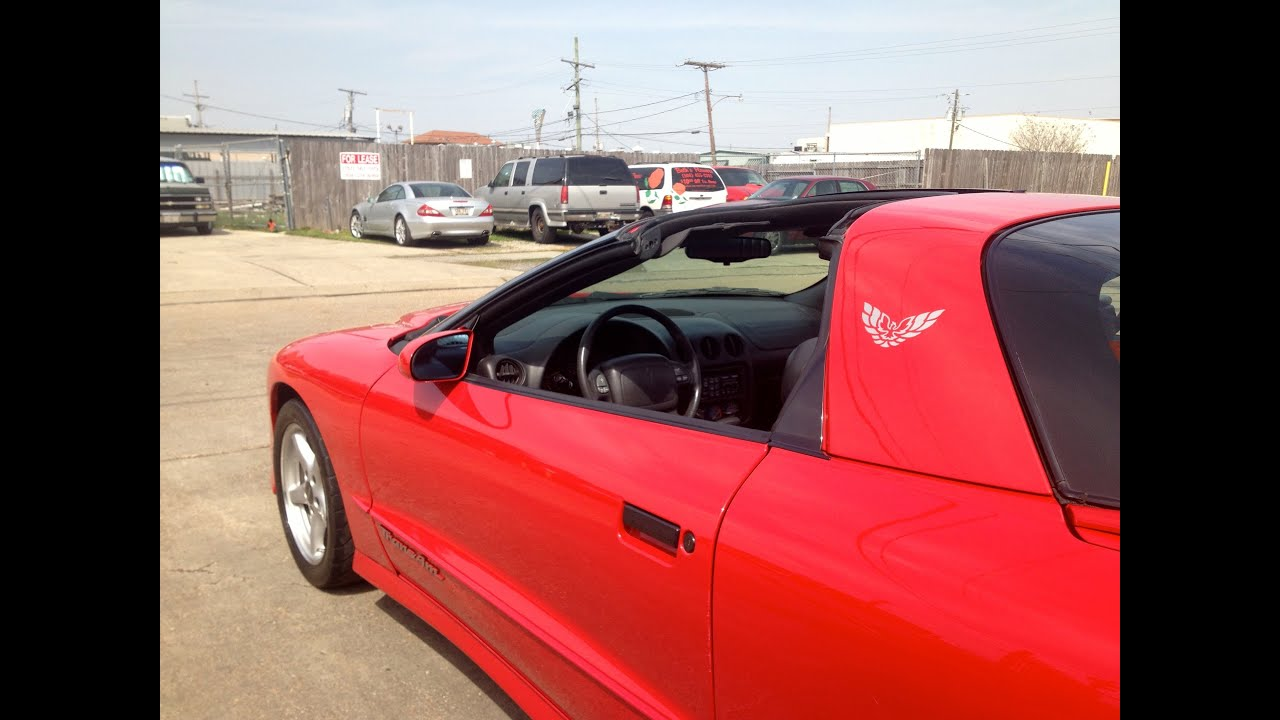 1996 pontiac firebird trans am ws6 for sale at metairie speed shop youtube. Black Bedroom Furniture Sets. Home Design Ideas