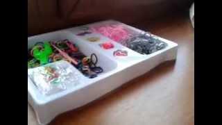 обзор на папку и резинок для браслета