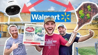 Walmart's CHEAPEST Grill COOKS Worlds MOST Expensive Steak!