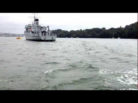 Navy Training Vessel