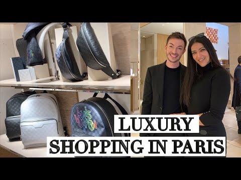 Paris Luxury Shopping & Most Lavish Louis Vuitton Dinner!