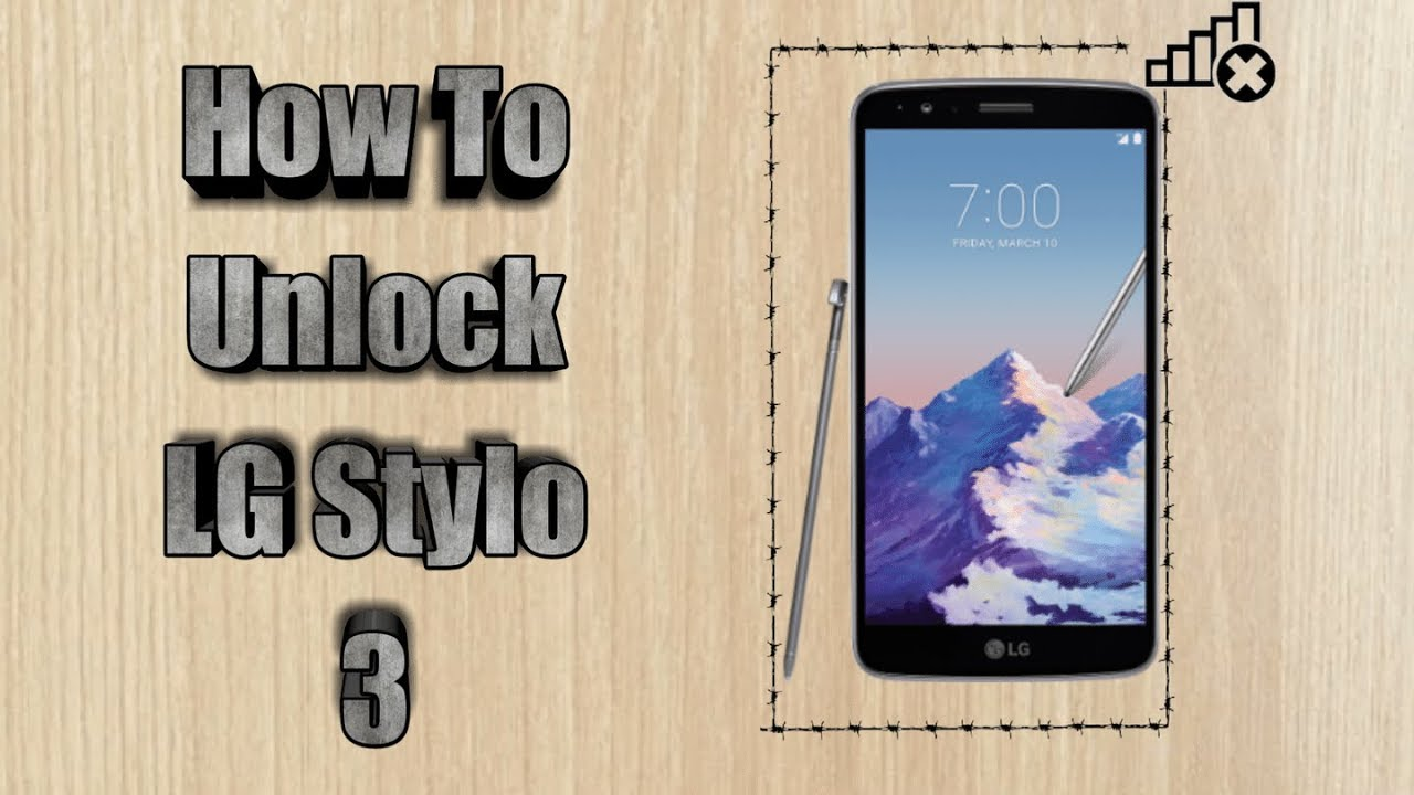 How To Unlock Lg Stylo 3 Boost Mobile For Free