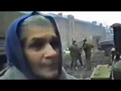Русские во время военных действий в Чечне.