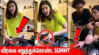 Sunny Leone's Live Gone Wrong!! 😨😱 | Lockdown Atrocities, Quarantine, Finger Chopped | Tamil News