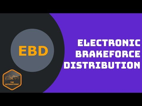 [HINDI] What is EBD? : Electronic Brakeforce Distribution! Animation and Necessity!!