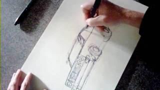 Racing Car - Quick Sketch