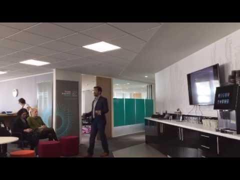 Nigel Dias of Croydon Tech City at Septembers Innovation Eat -Up