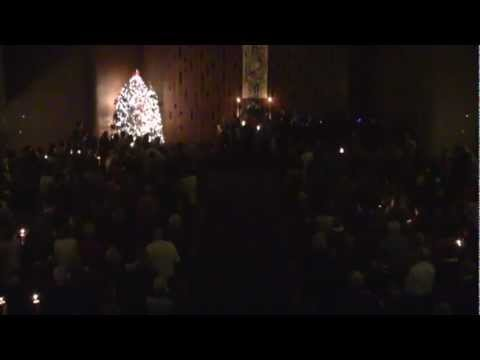Rev. Lindvig—Christmas Eve Candle Light Service—Seattle Unity Church—12-24-2012