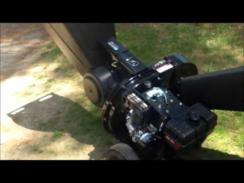 yard machine 10 hp wood chipper