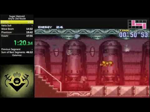 Super Metroid: Metroid Metal MSU-1 full gameplay [WIP #3]