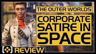 The Outer Worlds is a corporate satire in space | Review