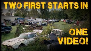 Junkyard First Starts! Fairlane and V8 Bronco First Start in YEARS!!
