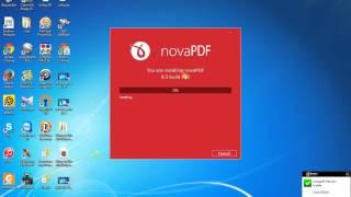 Hướng dẫn cài đặt và sử dụng NovaPDF