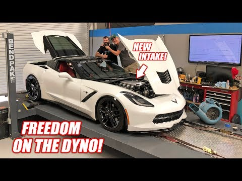 Our ProCharged Corvette Hits The Dyno... Bald Eagles are ANGRY!