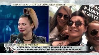"""Adina Buzatu, Nico și Silvia schimbă macazul: """"Mă îmbrac des în ținute masculine"""""""