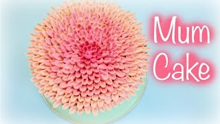 Buttercream Chrysanthemum Flower Cake - CAKE STYLE