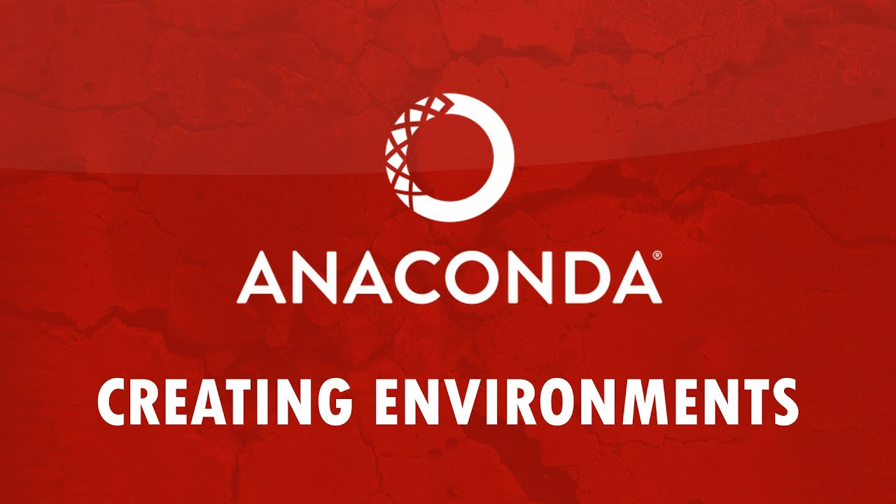 Anaconda Virtual Environments and Kernels for Jupyter Notebook