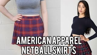 American Apparel Netball Skirts - Make Thrift Buy #1