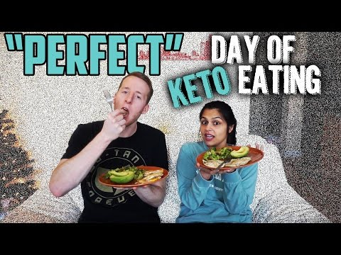 Keto Day of Eating with Perfect Macros | Keto Meal Ideas | What to Eat on a Ketogenic Diet