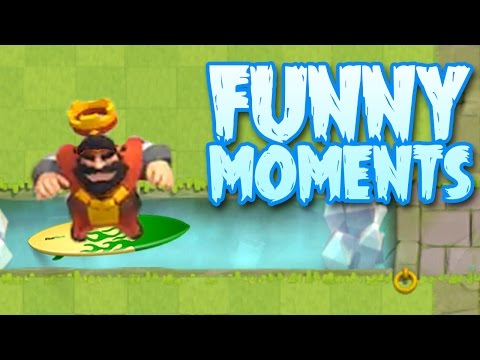 Funny Moments & Glitches & Fails | Clash Royale Montage #7