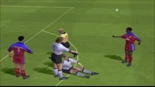 FIFA 2001 PS1 Gameplay HD