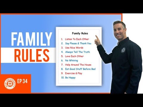 Creating a Family Rules Chart House Rules for Kids | Dad University