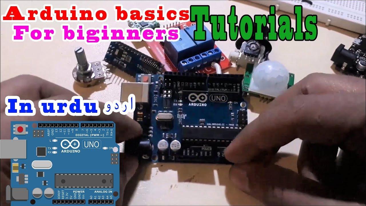 Arduino tutorial for beginners in urdu hindi youtube