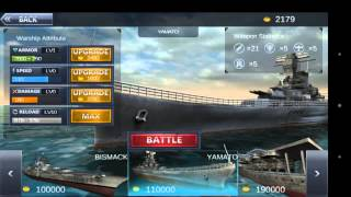 """Ultimate Sea Battle 3D"" Gameplay Juegos Android"